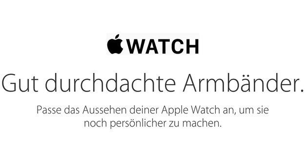 Apple Watch: Übersicht der Armbänder im Apple Store aktualisiert