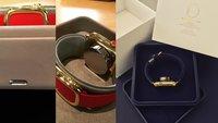 Apple Watch Edition: Fotos zeigen Verpackung und Ladestation