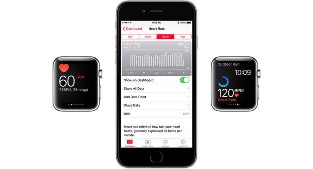 Apple Watch: Apple nennt Details zum Puls-Sensor