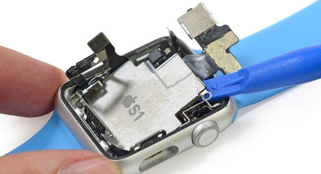 Apple Watch: Blick ins Innere von Apples S1 verrät 512 MB RAM und mehr