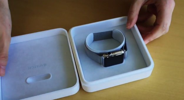 Apple Watch: Erstes Unboxing-Video gesichtet