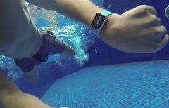 Apple Watch überlebt Dusche...