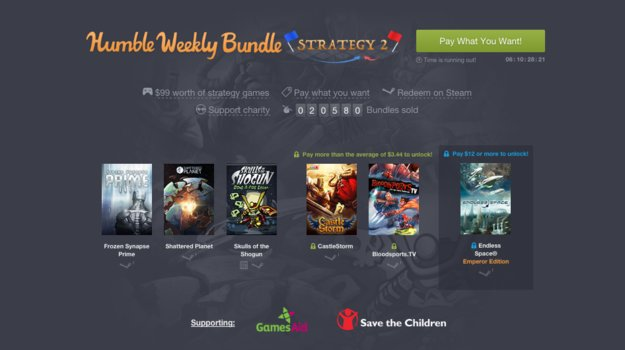 Humble Weekly Bundle: Strategie-Titel im Angebot
