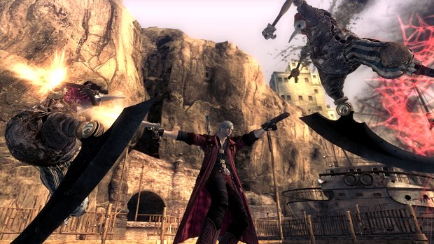 Devil May Cry 4 - Special Edition: Eine knappe halbe Stunde Gameplay