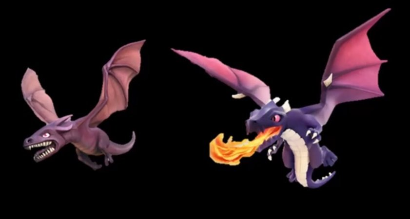 Clash of Clans Drachen
