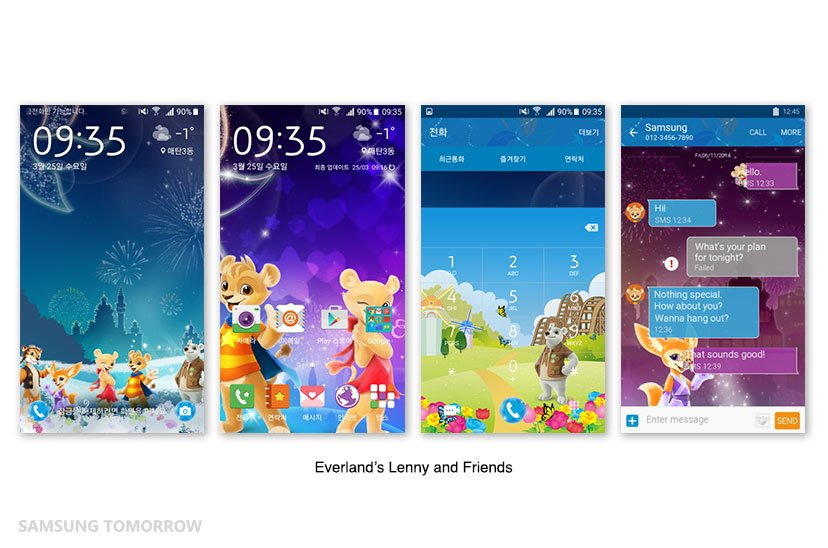 Everland-galaxy-S6-Theme