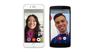Facebook Messenger: Videotelefonie-Funktion für Android und iOS vorgestellt