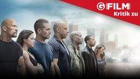 Fast & Furious 7: Kritik