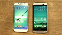 Samsung Galaxy S6 edge und HTC One M9 im Video-Vergleich