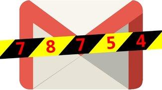 Google 78754 – So löst ihr das Gmail-Problem