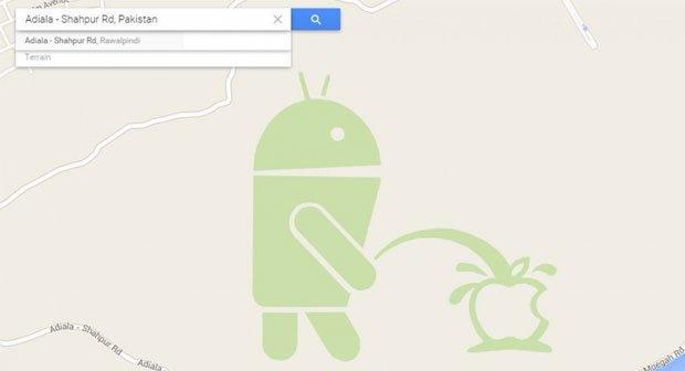 Google Maps: So kam der Piesel-Androide in den Kartendienst