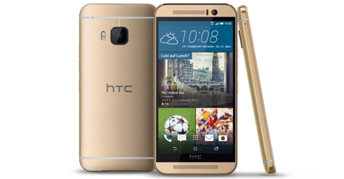 htc one m9 ab sofort auch in gold on gold erh ltlich giga. Black Bedroom Furniture Sets. Home Design Ideas