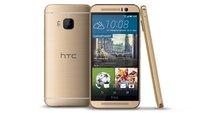 """HTC One M9 ab sofort auch in """"Gold-on-Gold"""" erhältlich"""