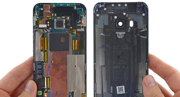 HTC One M9: Teardown belegt schlechte Reparierbarkeit