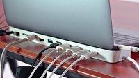 HydraDock: 11 Anschlüsse für das neue MacBook