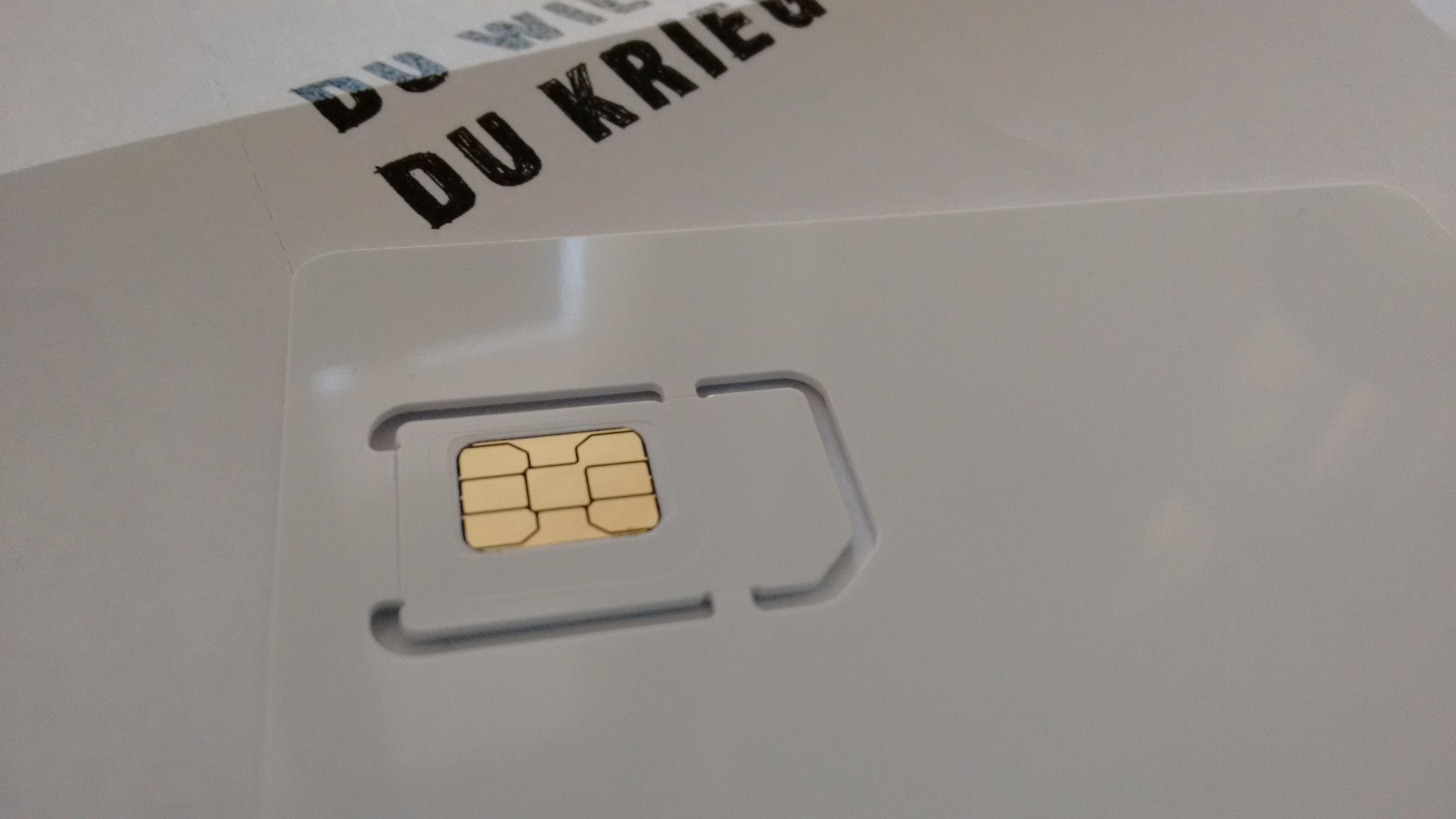 congstar sim karte Congstar SIM Karten im Überblick: alles über Nano  und Multi SIM
