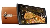 LG G4: Offizielle Bilder zeigen Smartphone mit Leder-Rückseite und mehr