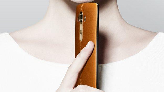 LG G4: Neues Video mit Fokus auf WQHD-Display, offizielles Bild bestätigt Design