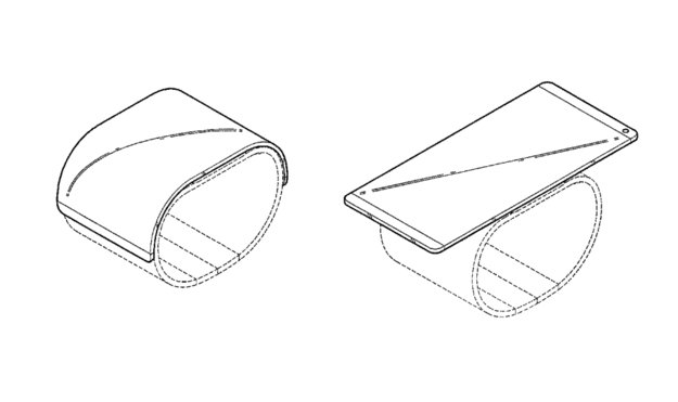 LG erhält Patent für faltbaren Smartphone-Wearable-Hybriden