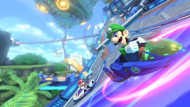 Mario Kart 8: Sonic dreht dank Modder auch seine Runden