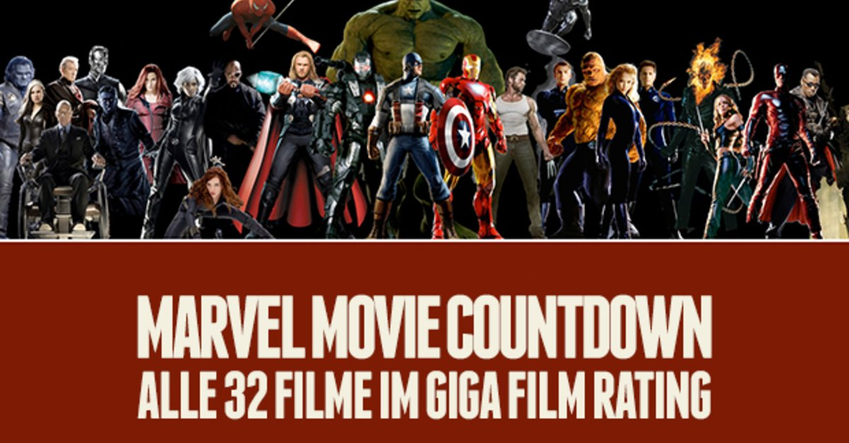 alle 32 marvel filme die ultimative top liste der marvel movie countdown chronologische. Black Bedroom Furniture Sets. Home Design Ideas