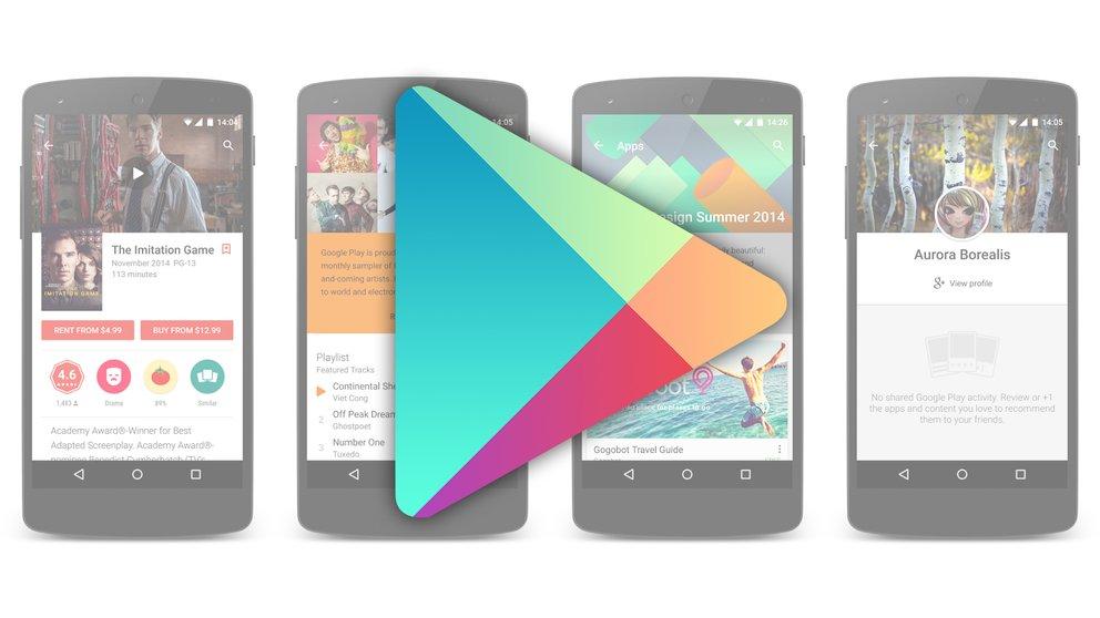 Google Play Store 5.4: Update bringt transparente Statusleiste [APK-Download]