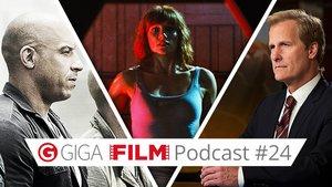 radio giga: Der GIGA FILM Podcast #24 – mit Furious 7, The Newsroom & Jurassic World