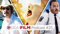radio giga: Der GIGA FILM Podcast #25 – mit Kaufhaus Cop 2, Baymax & Twin Peaks