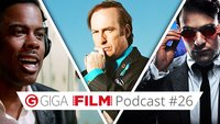 radio giga: Der GIGA FILM Podcast #26 – mit Top Five, Daredevil & Saul Goodman
