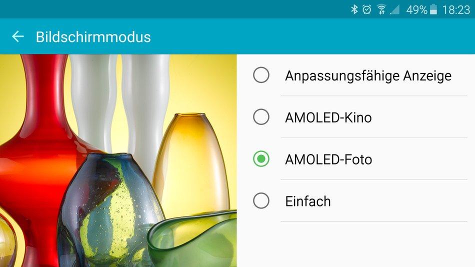 Tipp 13: Realistisches Display-Farbbild am Samsung Galaxy S6 (edge ...