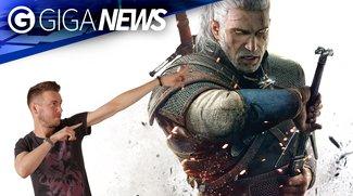 GIGA News: 200 Stunden The Witcher 3 und Kojimas Weggang von Silent Hills