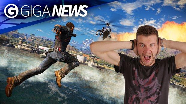 GIGA News: Bei Silent Hills, Steam und Just Cause 3 ist die Kacke am Dampfen!