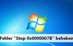 Stop 0x0000007B – so werdet...