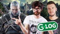 G-LOG: Niklas und Dominic bei The Witcher 3 in Warschau