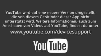 YouTube: Zugriff von alten Apple-TV- und iOS-Geräten wird abgeschaltet