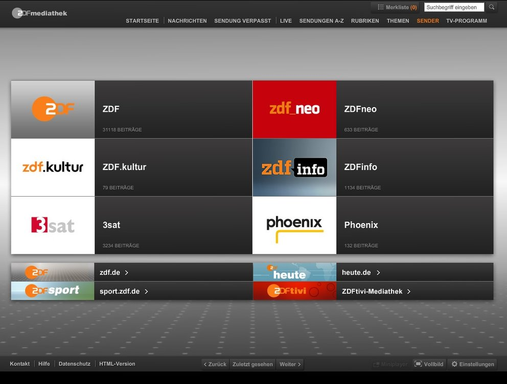 zdf hd stream