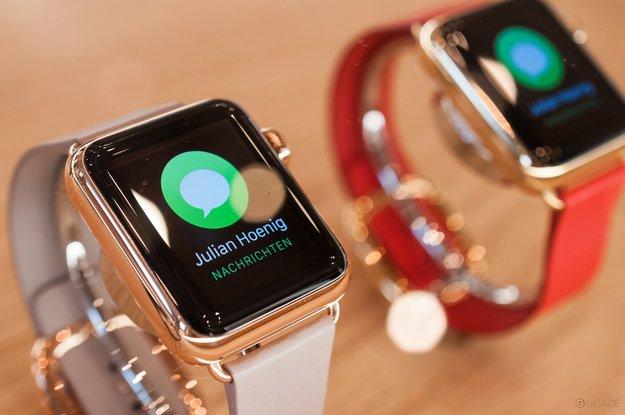 Apple Watch Edition fast vollständig von Apples Website verschwunden