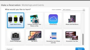 Apple Watch: Einführungs-Workshops im Apple Store
