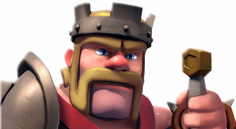Clash of Clans Barbarenkoenig