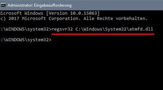 DLL-Datei registrieren – so geht's
