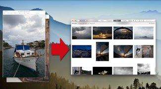 Fotos-Apps von OS X: Importieren von Bildern, so gehts