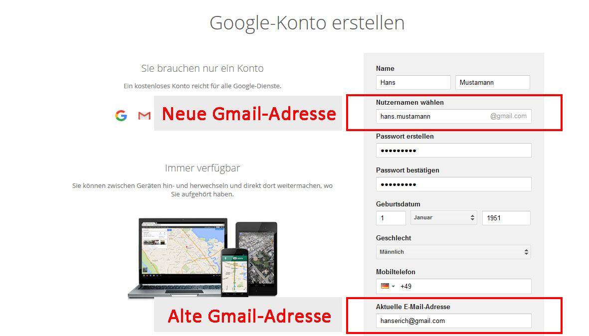 Gmail Adresse ändern So Gehts Giga
