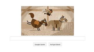 Pony Express: Witziges Spiel als Google Doodle heute zum 155. Jubiläum