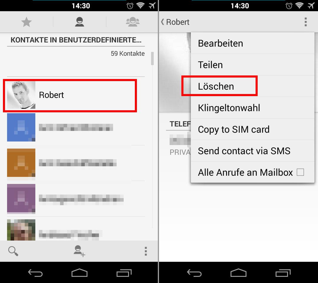 Kontakte Iphone 4 Löschen