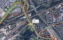 Google Maps: Verkehr anzeigen...
