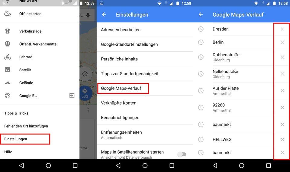 Google Maps: Verlauf löschen (Smartphone, PC) – so geht's on