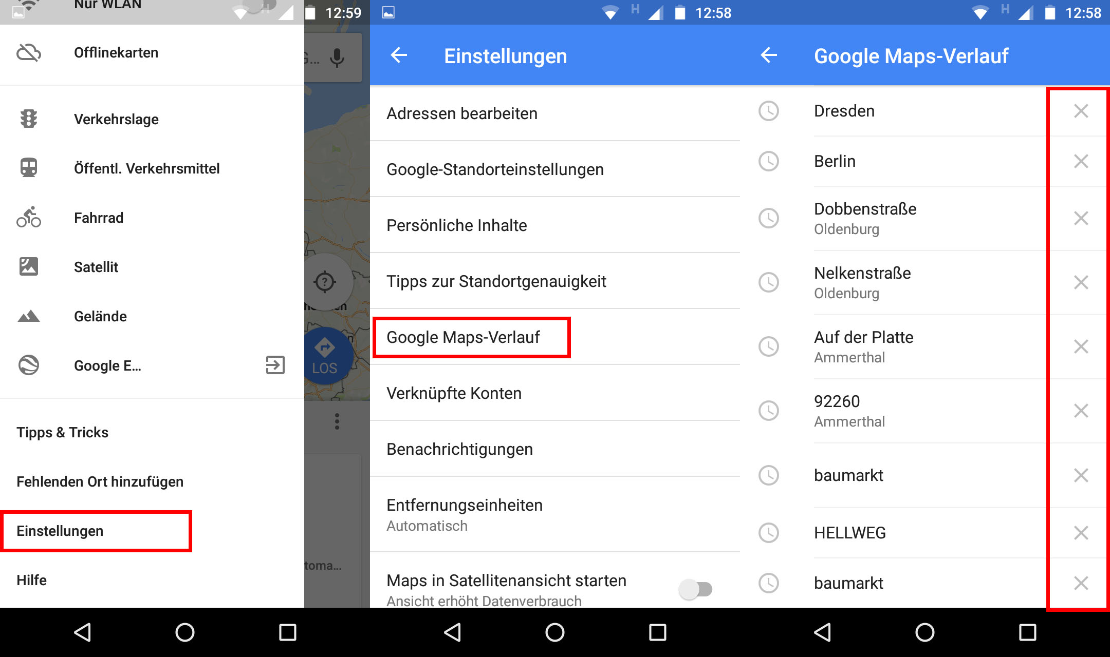 Google Maps Verlauf Löschen Smartphone Pc So Gehts Giga