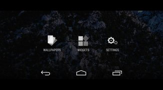Google Now Launcher: Gerät anpassen, Apps und Widgets hinzufügen und Hintergrund wählen