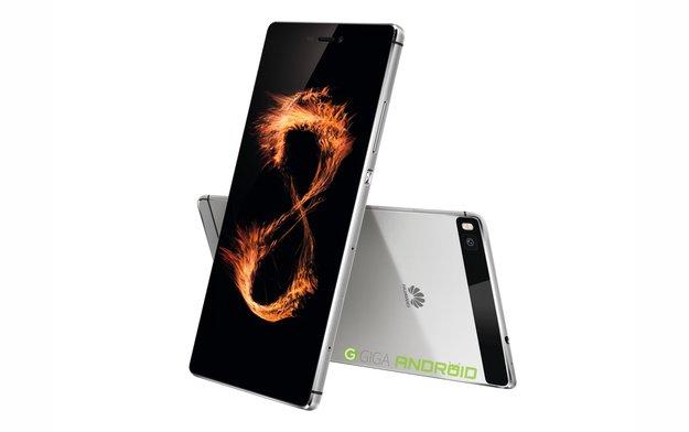 Huawei P8 und P8 Lite: Offizielle Bilder und alle Spezifikationen geleakt