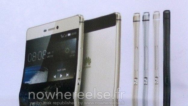 Huawei P8: Farbvarianten durch Werbeplakat enthüllt, Design erneut bestätigt